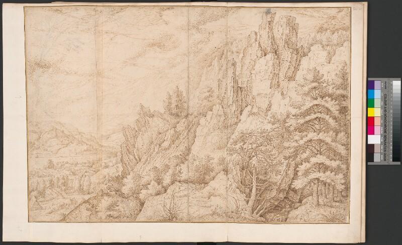 Tal in Böhmen von Savery, Roelant