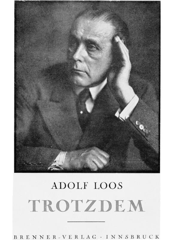 Loos, Adolf   von Loos, Adolf