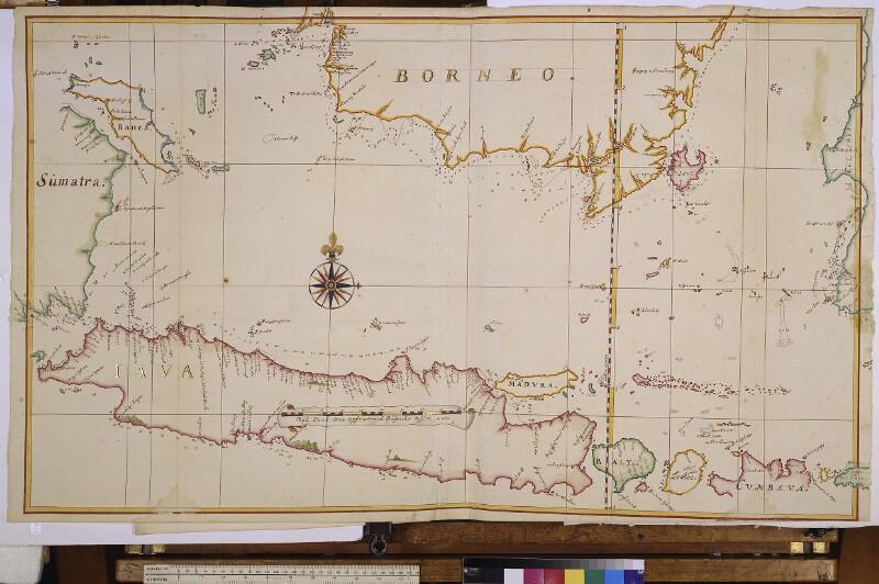 Landkarte der Javasee von Vingboons, Johannes
