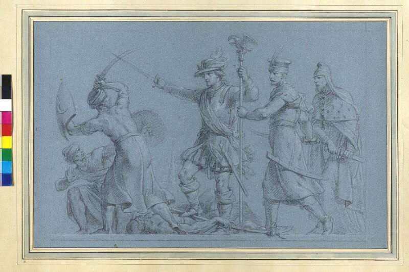 Wiens Befreiung durch König Johann III. Sobieski (recte Karl V. von Lothringen) von Füger, Heinrich Friedrich