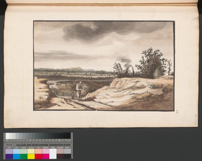 Wageningen vom Grebbeberg aus gesehen von Doomer, Lambert