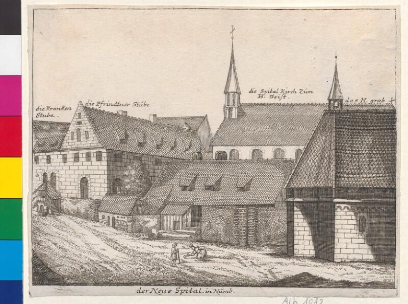 der Neue Spital in Nürnb.