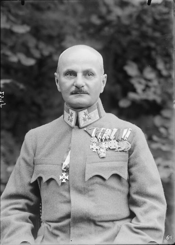 Hauptmann Wilhelm von Cavallar von Gebrüder Schuhmann