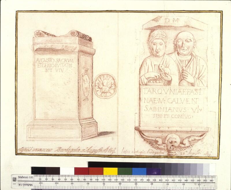Römische Altertümer von Hem, Hermann van der