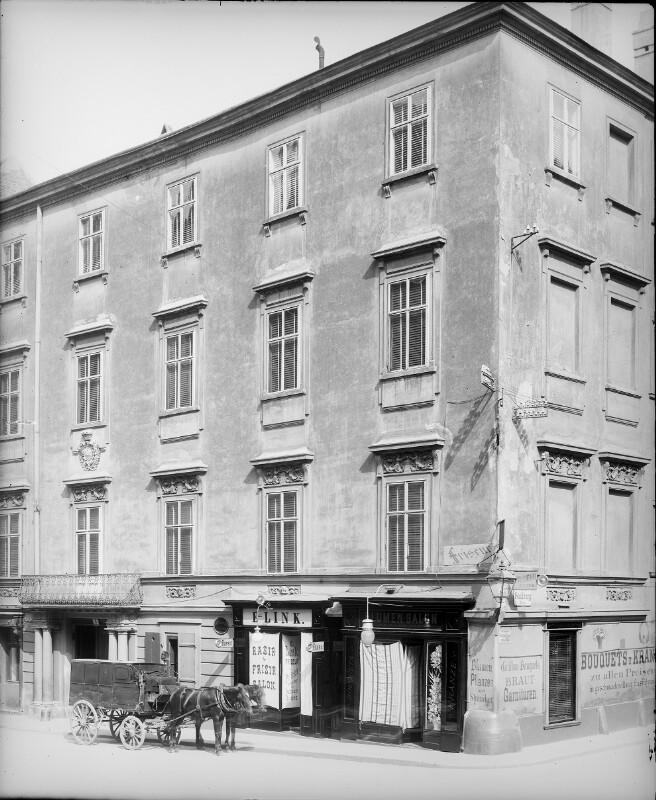 Wien 1, Habsburgergasse 9 von Stauda, August
