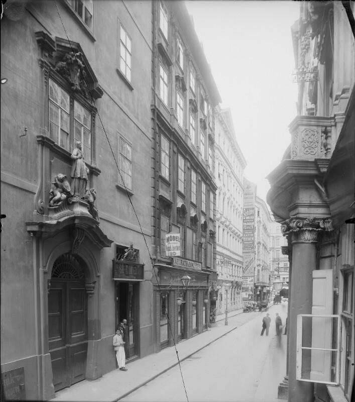 Wien 1, Habsburgergasse 12 von Stauda, August