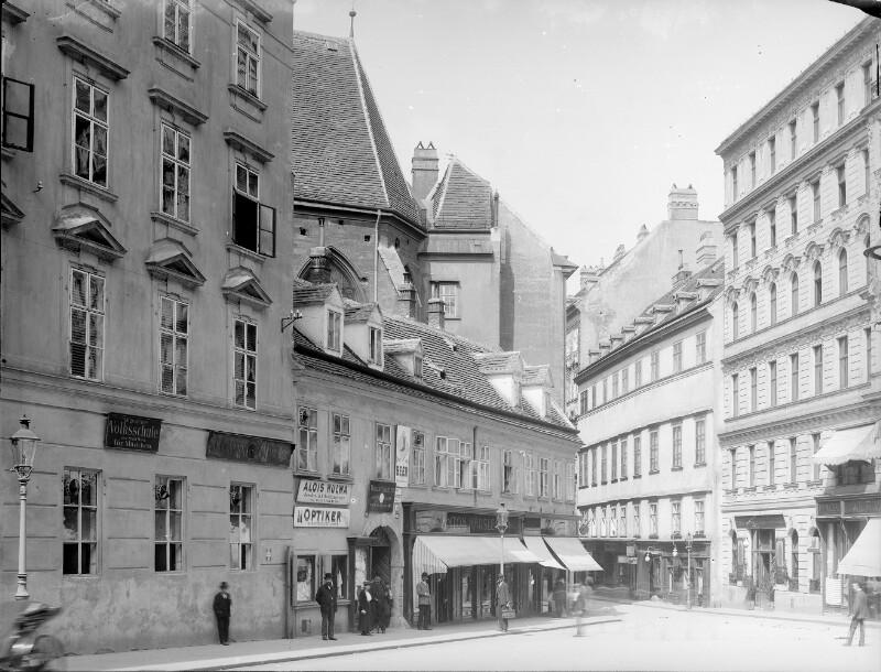 Wien 1, Habsburgergasse 14/9/7 von Stauda, August
