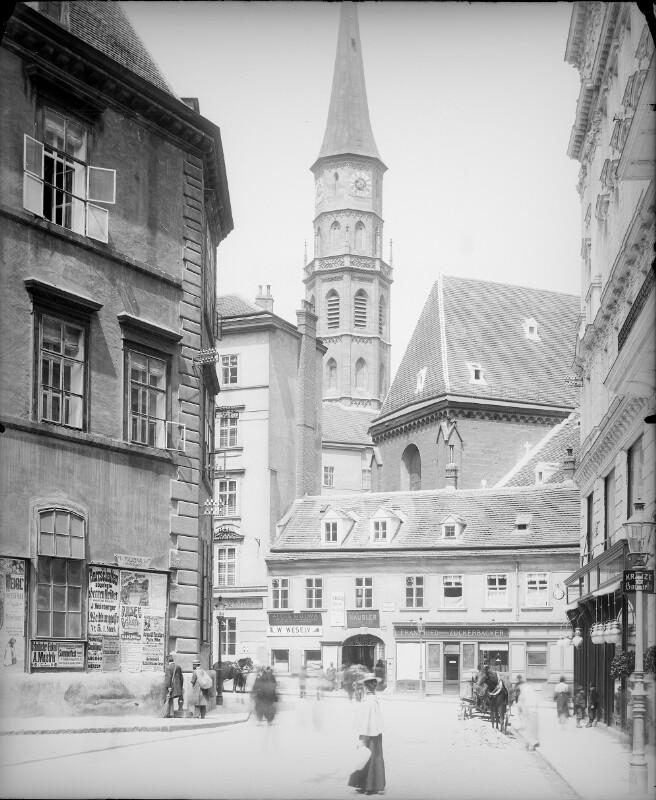 Wien 1, Habsburgergasse 14 von Stauda, August