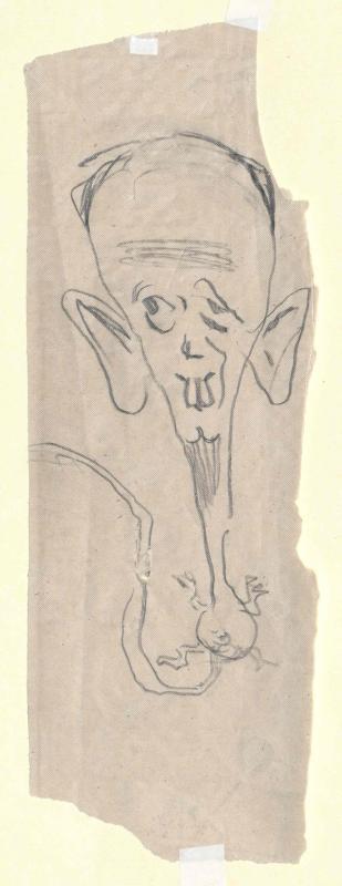 Karikatur von Fuchs, Robert