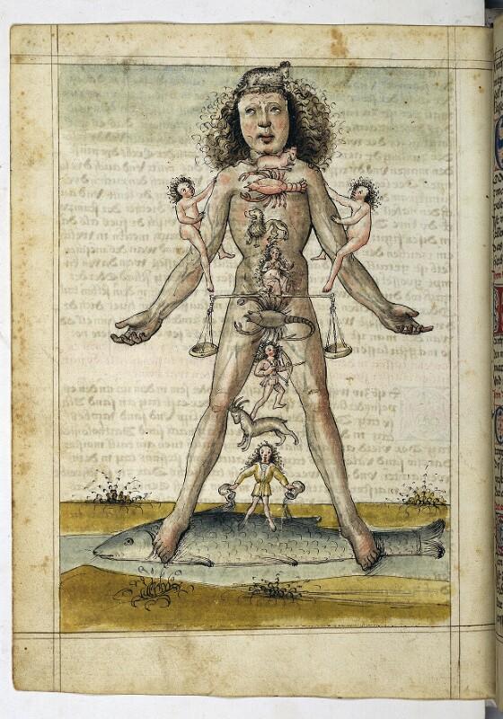 Cod. 3085, fol. 31v: Speculum humanae salvationis u. a.