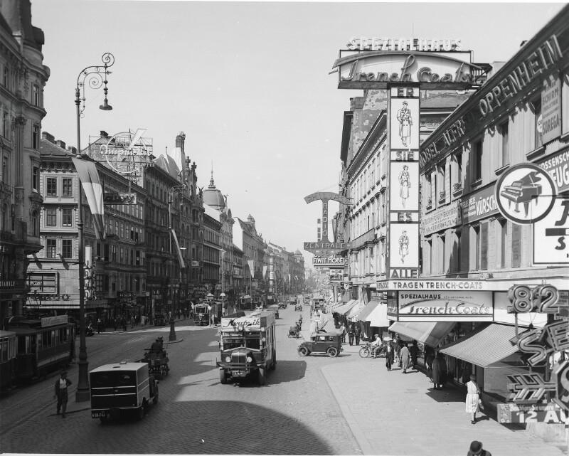 Wien 7, Mariahilferstraße 82ff von Österreichische Lichtbildstelle