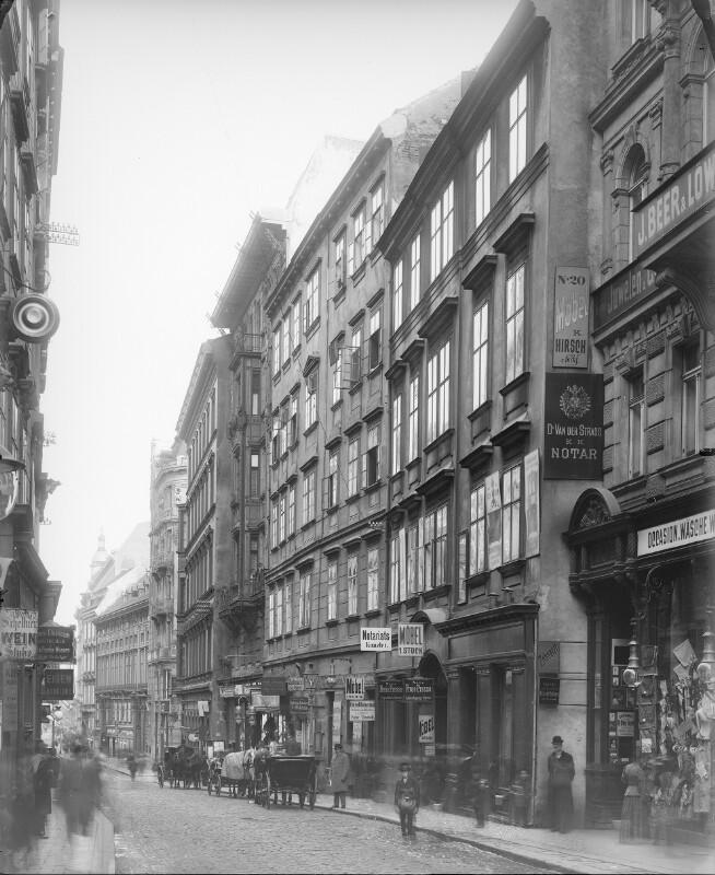 Wien 1, Wollzeile 20ff. von Stauda, August