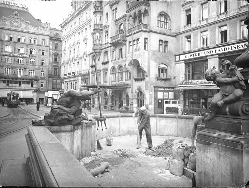 Wien 1, Neuer Markt von Hoffmann, Heinrich