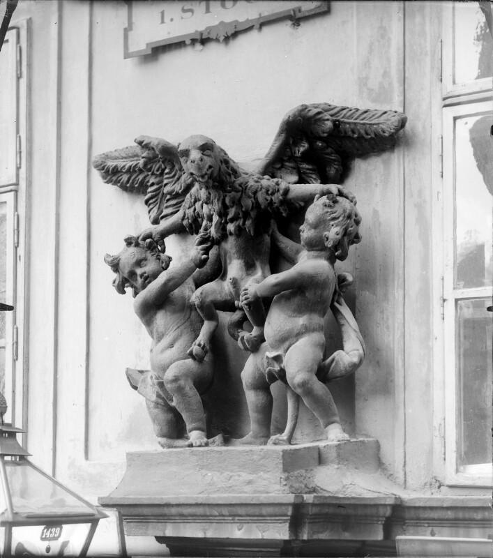 Wien 1, Kurrentgasse 12 von Stauda, August