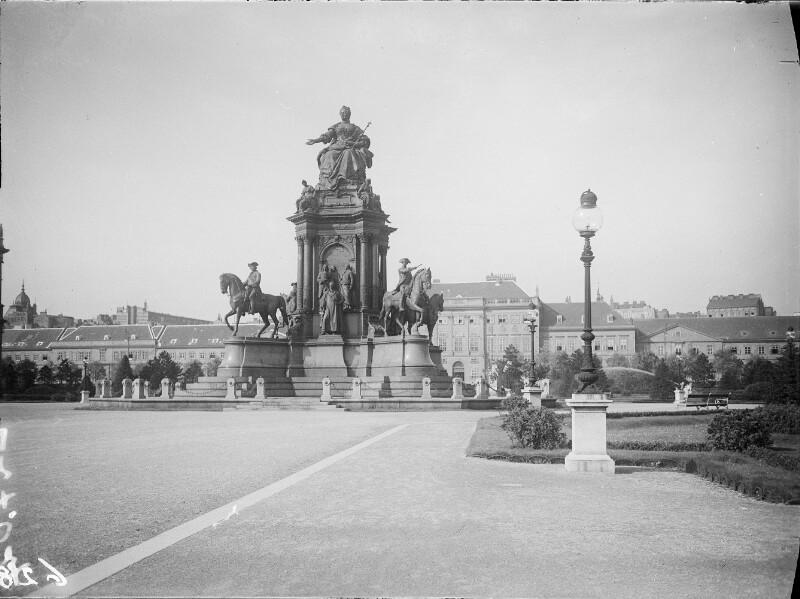 Wien 1, Maria-Theresien-Denkmal von Österreichische Lichtbildstelle