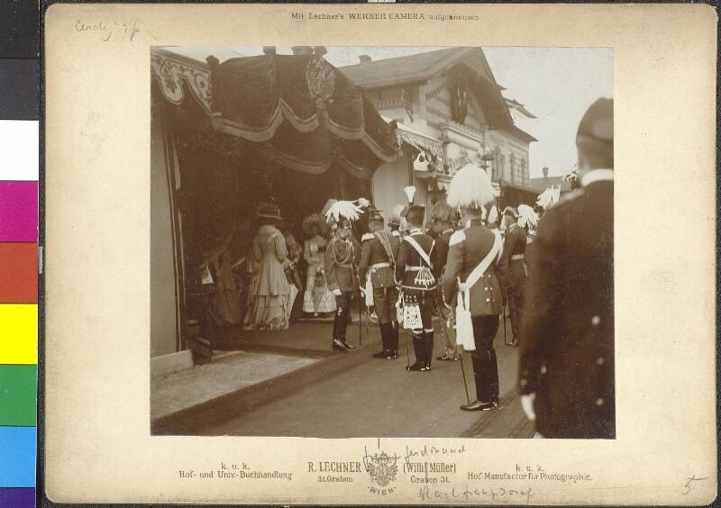 Fürstenhuldigung in Wien von Seebald, Karl
