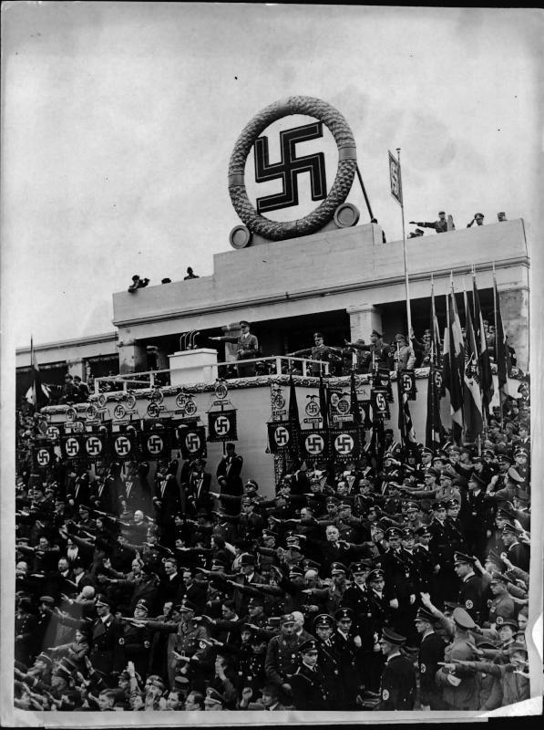 Gauparteitag in Weimar von Weltbild