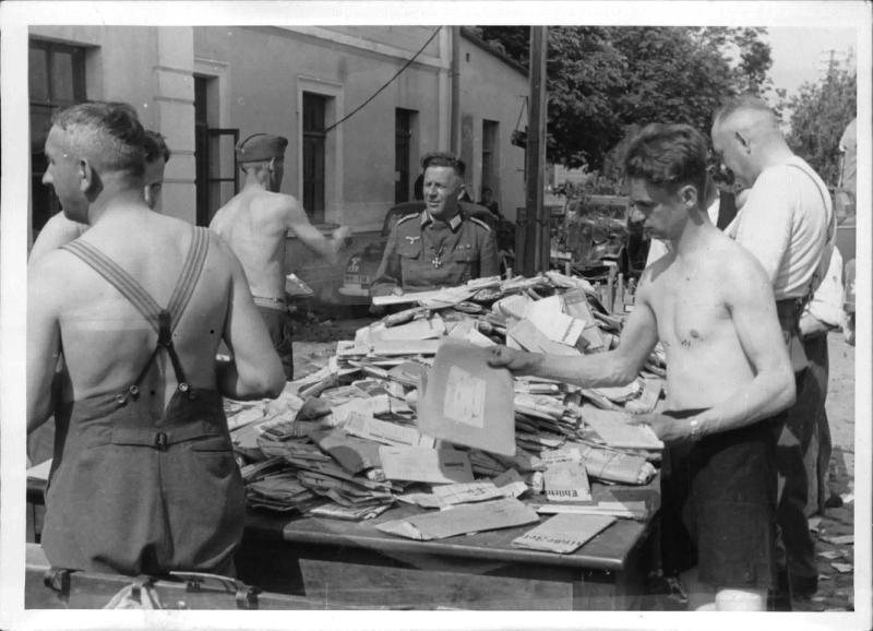 Verteilung der Feldpostbriefe