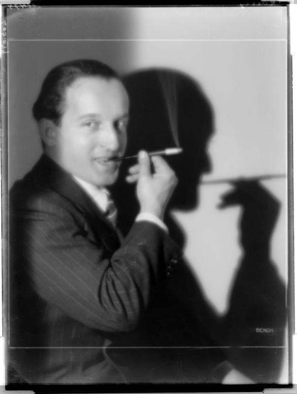 Der Tänzer und Schauspieler Ernst Matra von D'Ora-Benda, Atelier