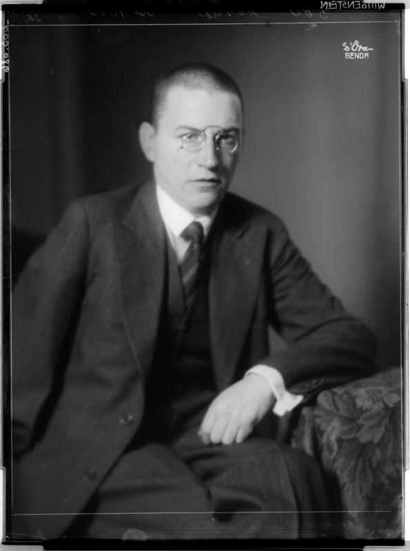 Paul Wittgenstein von D'Ora-Benda, Atelier