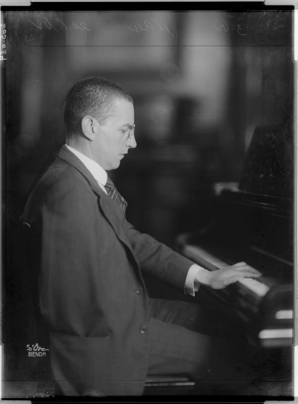 Der Pianist Paul Wittgenstein von D'Ora-Benda, Atelier