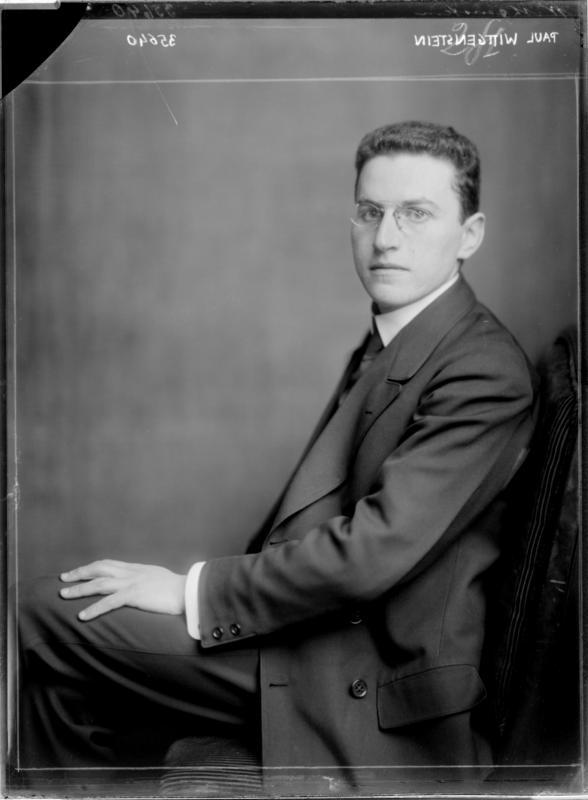 Bildnis des Paul Wittgenstein von Madame d'Ora, Atelier