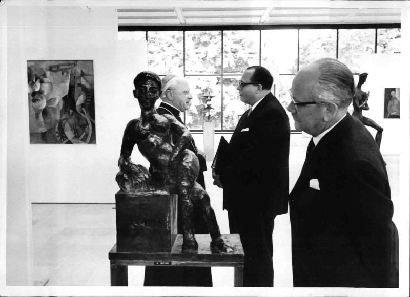 Eröffnung des Museums für zeitgenössische Kunst