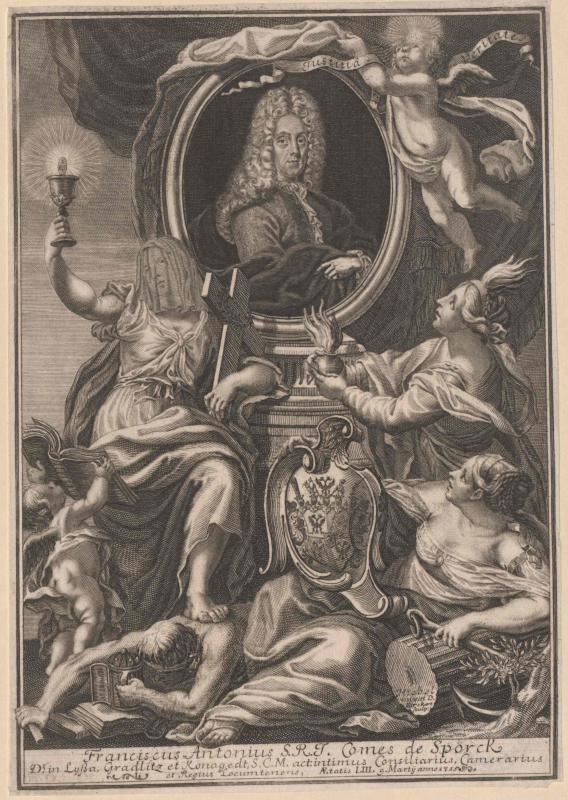 Sporck, Franz Anton Graf von Birkhart, Anton