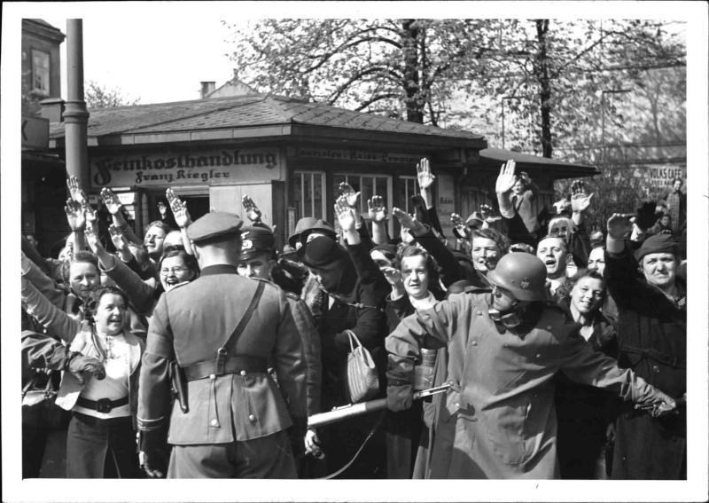 """Hitler bei den Rekruten in der """"Ostmark"""" von Weltbild"""