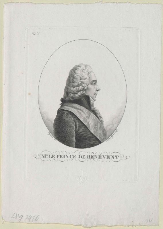 Talleyrand-Perigord, Charles Maurice Herzog von Vigneron, Pierre