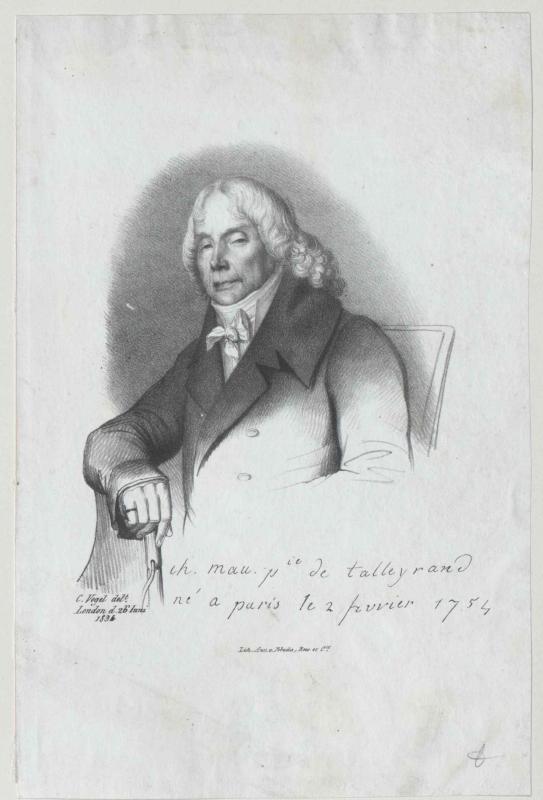 Talleyrand-Perigord, Charles Maurice Herzog von Zöllner, Ludwig