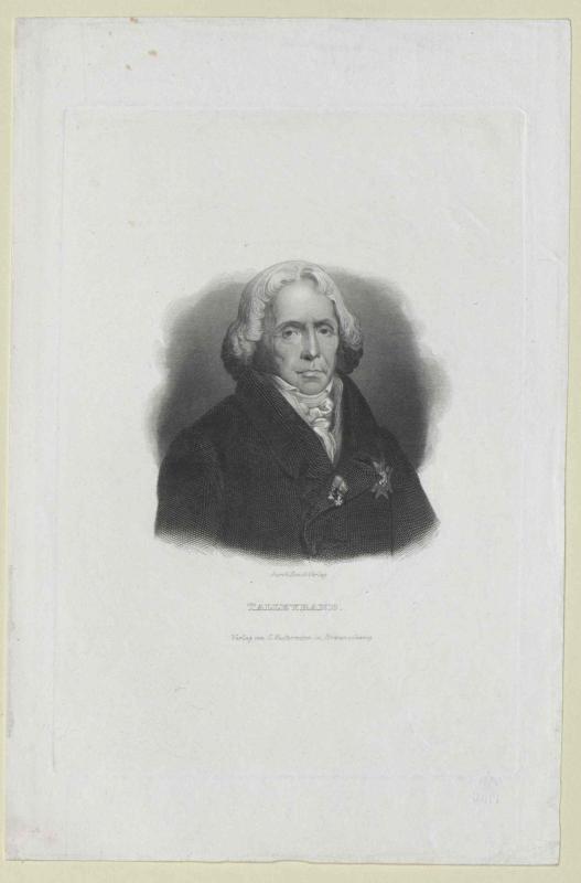 Talleyrand-Perigord, Charles Maurice Herzog von Kunst-Verlag