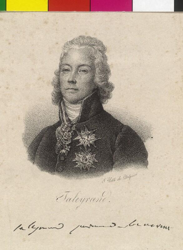 Talleyrand-Perigord, Charles Maurice Herzog von Delpech, François Séraphin