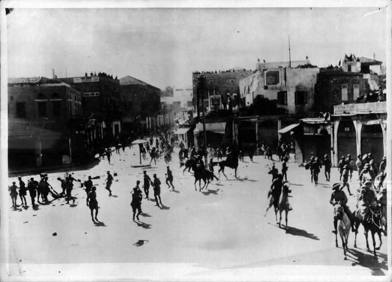 Demonstration in Jaffa von Weltbild