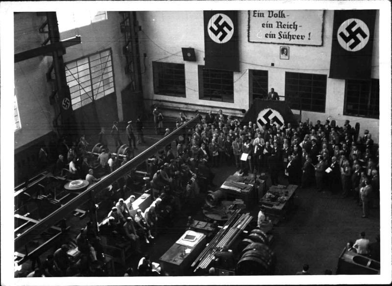 KdF Werkskonzert in Simmeringer Waggonfabrik von Weltbild