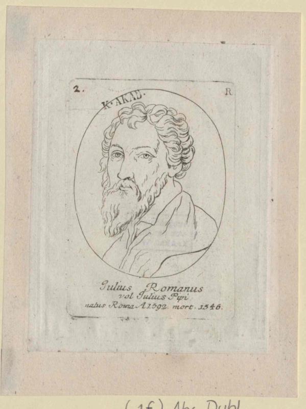 Giulio, Romano von Kilian, Georg Christoph