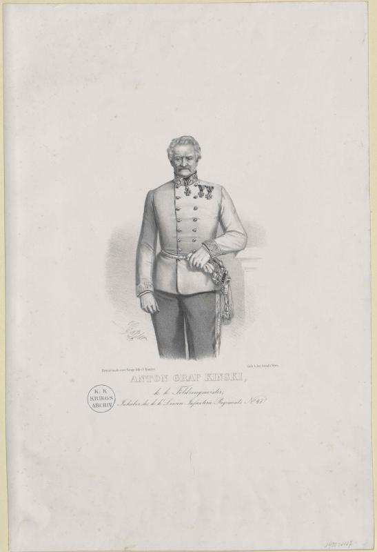 Kinsky, Anton Graf