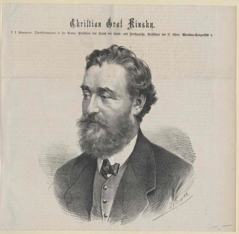 Kinsky, Christian Graf