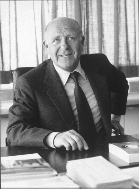 Porträt von Gerd Bacher von ORF