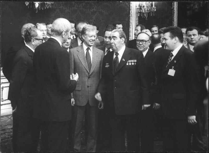 Carter und Breschnew auf Staatsbesuch in Wien von Kern, Fritz