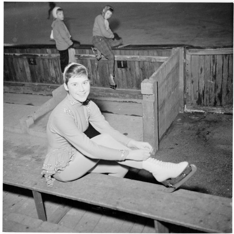 Ingrid Wendel beim Training von Scheidl