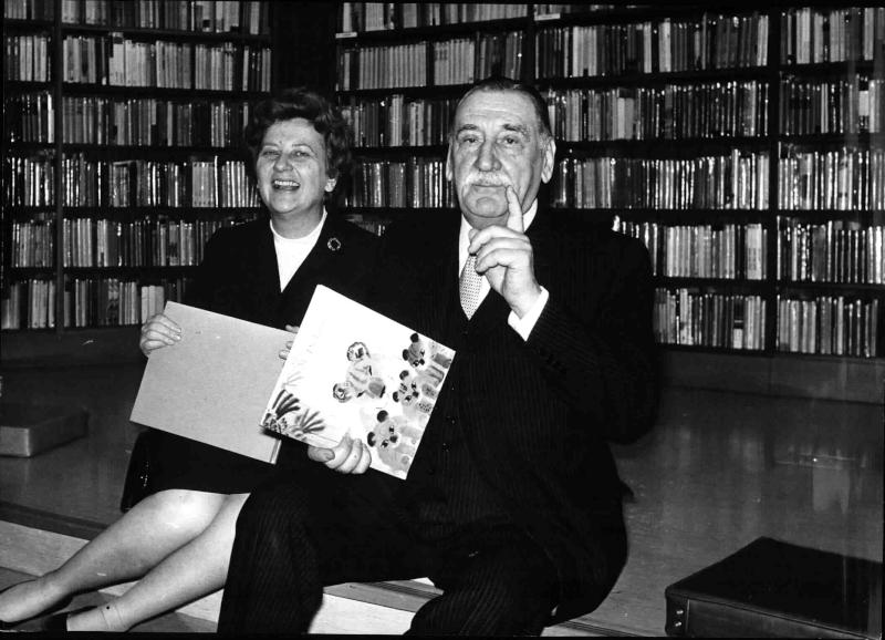 Bürgermeister Marek bei der Eröffnung des Haus des Buches