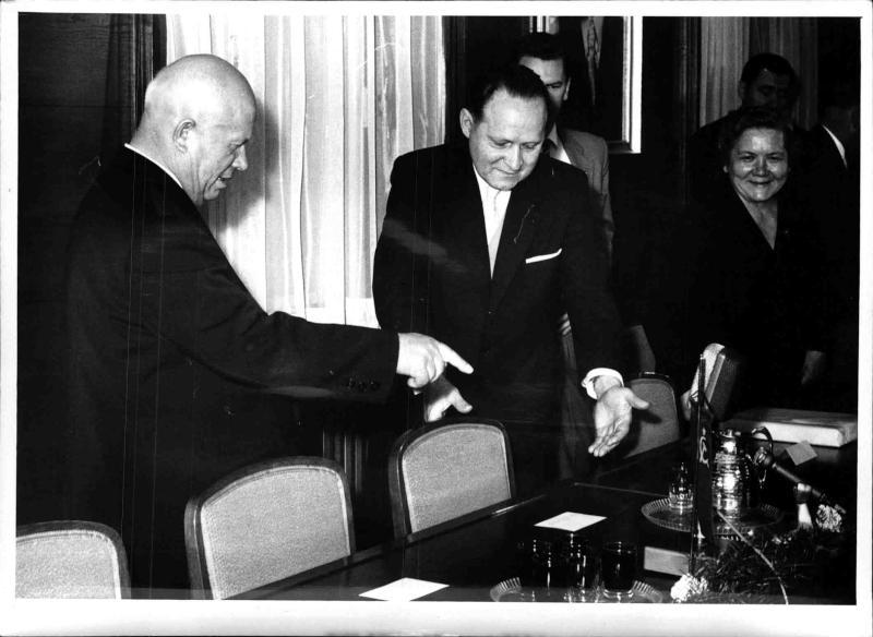 Staatsbesuch von Nikita Chruschtschow in Wien von Kern, Fritz
