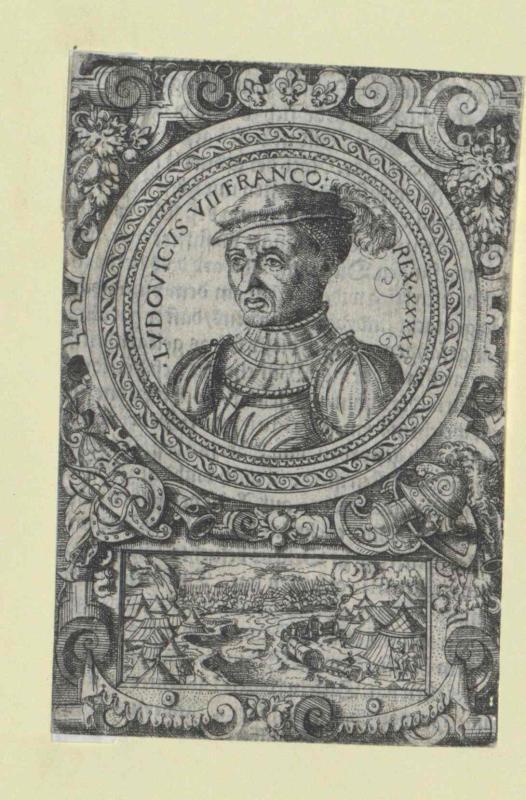 Ludwig VII., König von Frankreich von Ammann, Jost