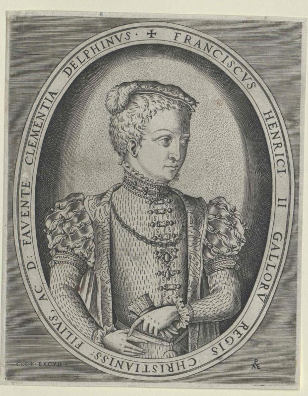 Franz II., König von Frankreich von Cock, Hieronymus