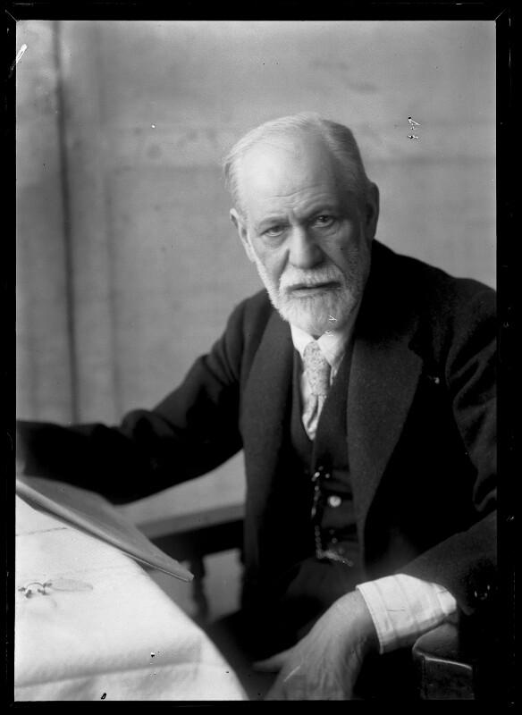 Bildnis Sigmund Freud (1856-1939) von Schmutzer, Ferdinand