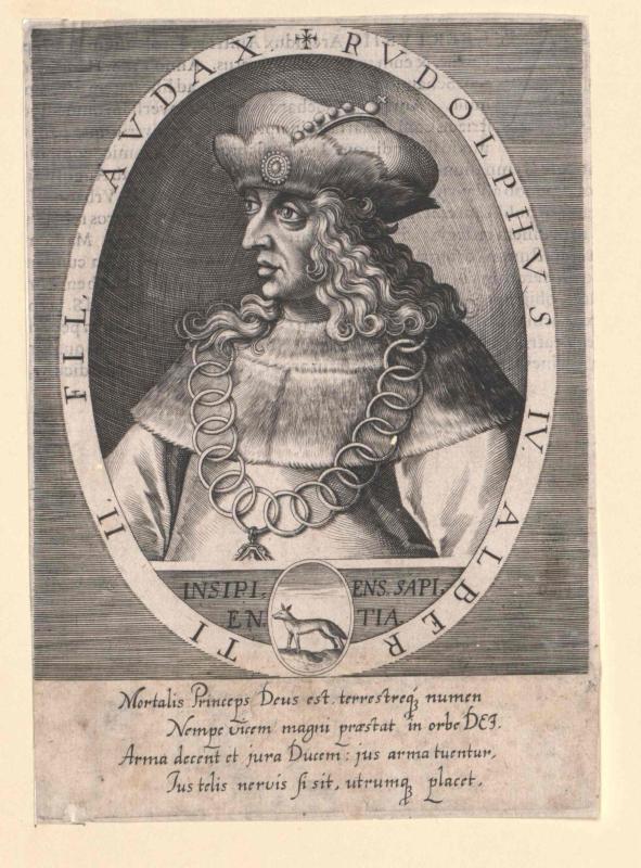 Rudolf IV. der Stifter, Herzog von Österreich