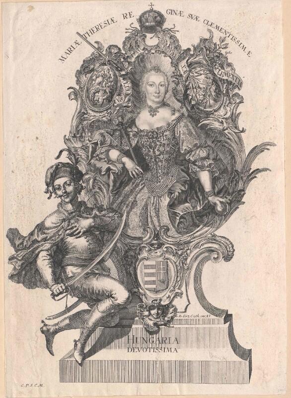 Maria Theresia, römisch-deutsche Kaiserin von Götz, Gottfried Bernhard