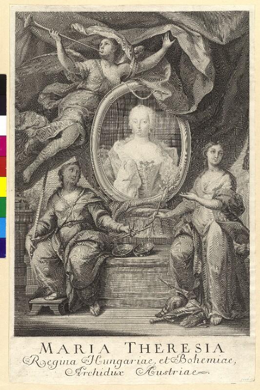 Maria Theresia, römisch-deutsche Kaiserin von Altomonte, Martino