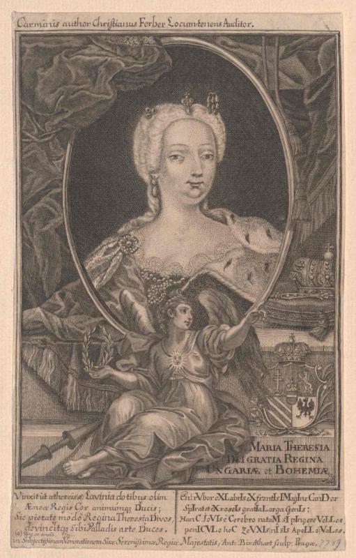 Maria Theresia, römisch-deutsche Kaiserin von Birkhart, Anton